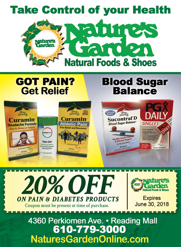 june coupon pain diabetes nature s garden